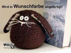 Türstopper+OsterHase+Wunschfarbe+von+Woll-KE+auf+DaWanda.com
