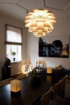 PH Artichoke pendant lamp. Photo by Bobo Ollson. Via Desire to Inspire.