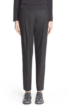 Fabiana Filippi Wool Flannel Pleated Ankle Pants $580.00  #ShopSale #newarrivals #DesigerClothing