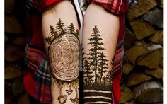 tatuajes para hombres lumbersexuales