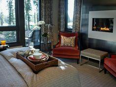 Bedding, houndstooth, pinstripe, HGTV Dream Home 2014 Master Bedroom | HGTV