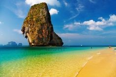 Pranang Bay is one of the most beautiful beaches in Thailand.