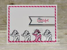 stampin up beautiful you cards Stampin Up Anleitung, Crafts For 2 Year Olds, Spot Light, Stamping Up Cards, Happy Birthday Cards, Up Girl, Paper Cards, Cool Cards, Scrapbook Cards