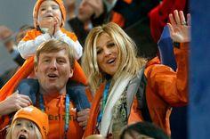 Dutch Royal family, Winter Olympics, Vancouver 2010.