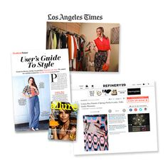 The Fashion Star host, Louise Roe, told Refinery 29 that lia sophia is one of her favorite jewelry brands, highlighted our Pyramid bangles in a Los Angeles Times fashion story and wore our Damascus ring in the April issue of Allure!