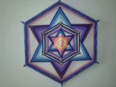 Ojos de Dios - Mandala tejido