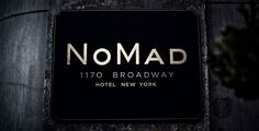 possible signage: building mounted / Old World Meets Modern Day: The NoMad Hotel in interior design Category