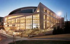 The Peterson Events Center is downtown Pittsburgh just a few miles down a major highway from Hampton Inn Monroeville