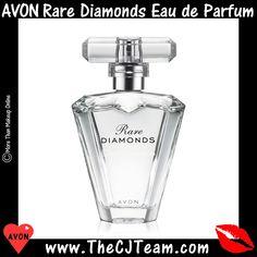 #Avon Rare Diamonds Eau de Parfum A brilliant jewel faceted with sparkling plum blossom, diamond orchid and the sophisticated elegance of rich cashmere woods. Reg $23. #CJTeam #Sale #Rare #Avon4Me #Perfume #Fragrance #RarePearlsPerfume #AvonRareFragrances #Avon4Me #RarePearls #C22 Shop Avon Fragrances Online @ www.TheCJTeam.com