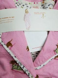 New Munki Munki Weiner Dogs Dachshund Flannel Pajama Set size XLarge Soft  #MunkiMunki #PajamaSets #Everyday