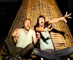 hahahah their faces