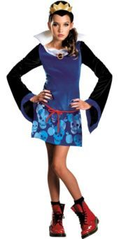 Snow White Evil Queen Costume for Girls