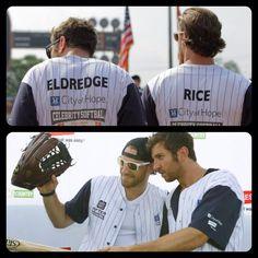 Brett Eldredge, Chase Rice & Baseball...doesn't get much better than this