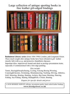 Painting Edges, Rebounding, Bookbinding, Frost, Studio, Antiques, Books, Leather, Antiquities