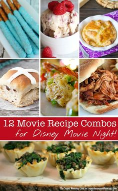 Genius! Disney movie inspired recipes to enjoy while you watch your favourite Disney movie!