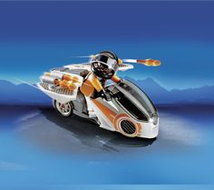 5288 Skybike της Spy Team! Με σφαίρες που εκτοξεύονται και αναδιπλούμενα φτερά.