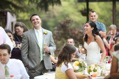 Intimate Utah Mountain Wedding Venue: Millcreek Inn / Photographer: Logan Walker Photography / Cake: Bayshore Cake / Florist: Dahlia Event Planning
