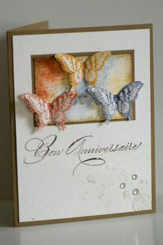 I think this would be a good way to use up some of my languishing aperture cardstock! Could use any shape instead of butterflies.