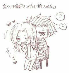 Karasuma and irina sensei