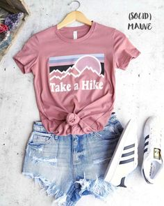 take a hike shirt/ hiking shirt/ladies hiking shirts/womans hiking shirt/Camping. - - take a hike shirt/ hiking shirt/ladies hiking shirts/womans hiking shirt/Camping Shirt Womens Graphi take a hike shirt/ hiking shirt/ladies hiking shi. Cute Teen Outfits, Teenage Girl Outfits, Cute Comfy Outfits, Teenager Outfits, Teen Fashion Outfits, Simple Outfits, Cute Teen Clothes, Cute Outfits For School For Teens, Summer Clothes For Teens