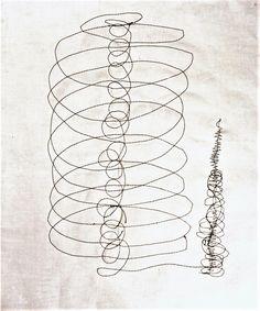 Drawing , c 1950 ,Kansuke Yamamoto, ©Toshio Yamamoto.