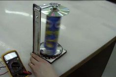 Build your own small wind turbine from things you have at home or can easily find at the hardware store...