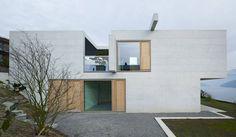 Neubau Wohnhaus, Hertenstein/Weggis, Schweiz - Buchner Bründler Architekten
