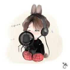 """치미 on Twitter: """"#btsfanart #jungkook   Euphoria 〜🎶… """" Chibi Pokemon, Naruto Chibi, Chibi Manga, Chibi Bts, Jungkook Fanart, Jungkook Cute, Kpop Fanart, Foto Bts, Chibi Tutorial"""