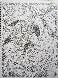 Para colorear libro tortugas para colorear libro por ChubbyMermaid