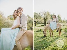 http://dreameyestudio.pl/ #dreameyestudio #smile #happycouple #horse #engagementsession #weddingphotographers