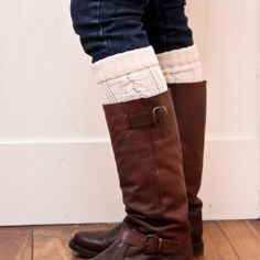 upcycle sweater sleeves into leg warmers - Google Search