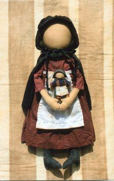 Amish Crafts, Primitive Crafts, Antique Dolls, Vintage Dolls, Amish Dolls, Amish Culture, Little Dolly, Activity Day Girls, Primitive Doll Patterns