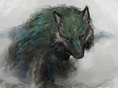 The Legend of Zelda Twilight Princess Wolf Link by Hannah