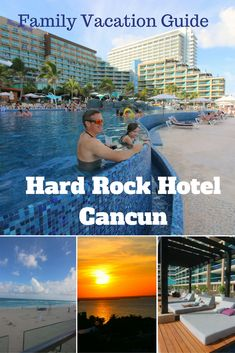 Family Vacation Day 3 In Cancun At Our Partner, The Hard Rock Hotel!