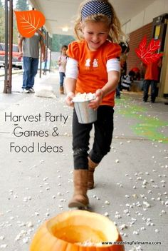Game and Food Ideas for a Harvest Party