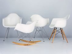 More beautiful Eames chairs.