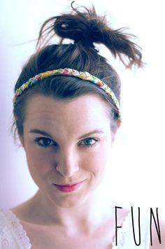 DIY Braided Liberty Headbands DIY Crafts