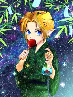 The Legend of Zelda: Ocarina of Time / Link / 「無題」/「夜」の漫画 [pixiv] [01]