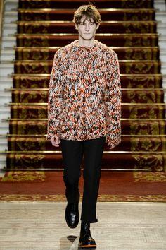 Pringle of Scotland Fall 2016 Menswear Fashion Show