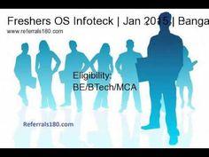 Freshers OS Infoteck walk-in | Associate Software Engineer | Jan 2015 | Jan 2015