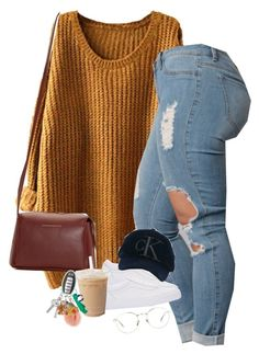 """""""Coffee run"""" by blacklegends ❤ liked on Polyvore featuring Vans, Calvin Klein Jeans, Want Les Essentiels de la Vie and Linda Farrow"""