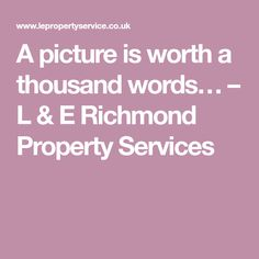 A picture is worth a thousand words… – L & E Richmond Property Services Words, Pictures, Photos, Horse, Grimm