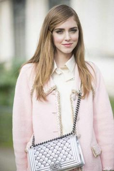 Powder Pink: tenth look of PFW