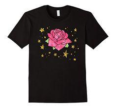 Mens Cute Watercolor Rose Gold Stars Tattoo Doodle Design...
