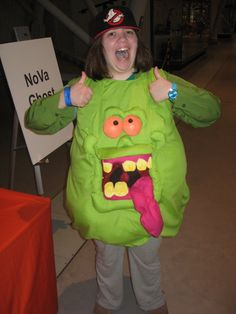 DIY slimer                                                                                                                                                                                 More