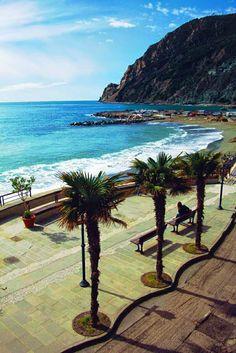 Beaches of Monterosso al Mare, Cinque Terre Italy