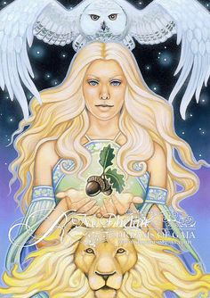 Heaven and Earth ~ Ravynne Phelan - tarot and oracle author and artist