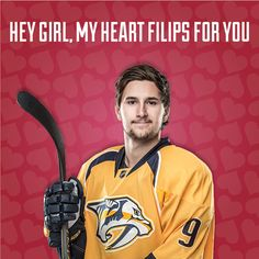 Happy Valentine's Day love the Nashville Predators