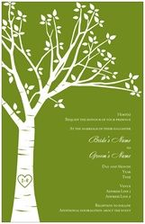 Wedding Invitations Invitations & Announcements carved initials tree    Awesome ideas for everything from business cards to wedding invites to t-shirt designs :D
