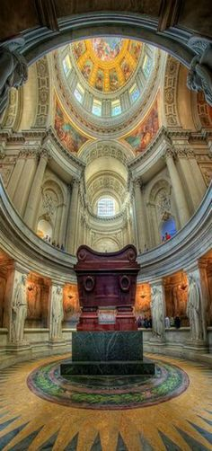 Napoleon's Tomb, Les Invalides, Paris, France